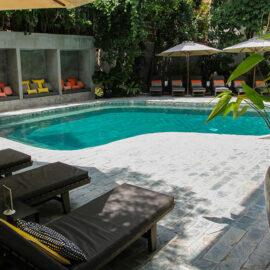 Swimming pool at Rambutan Resort Phnom Penh, Cambodia, photo by Ivan Kralj