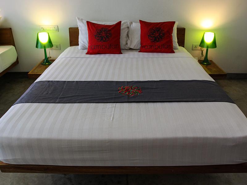 Double bed at Rambutan Resort Phnom Penh, Cambodia, photo by Ivan Kralj