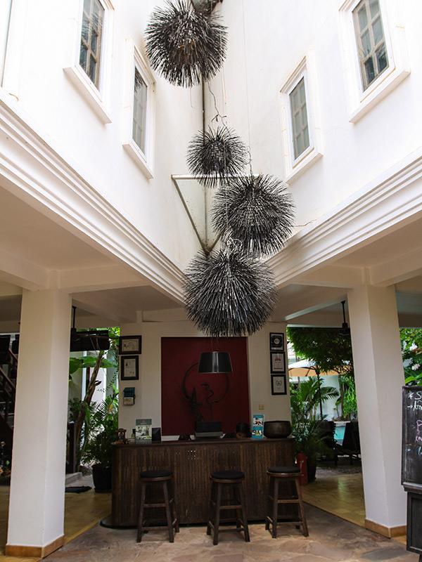 Lobby at Rambutan Resort Siem Reap, Cambodia, photo by Ivan Kralj