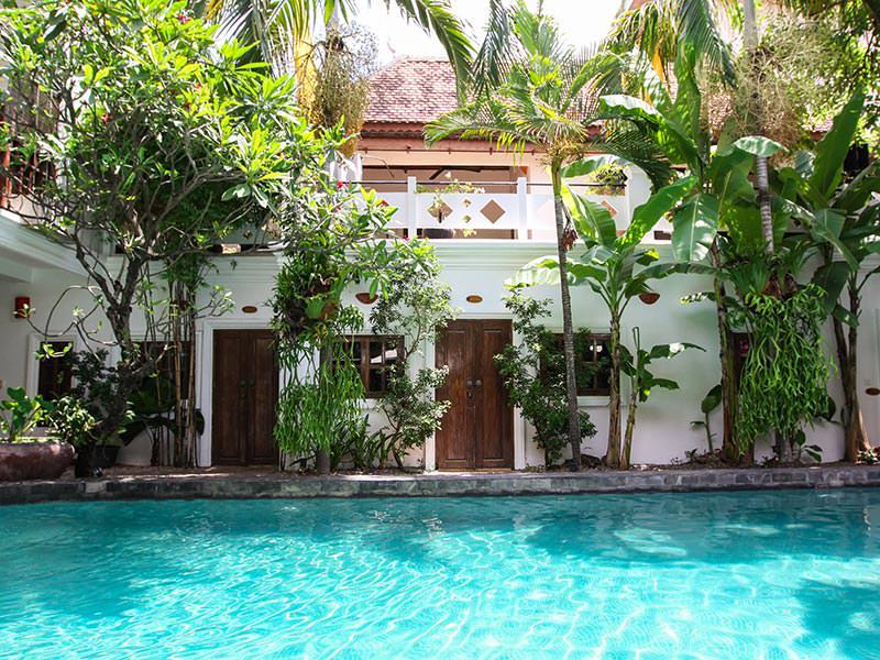 Swimming pool at Rambutan Resort Siem Reap, Cambodia, photo by Ivan Kralj
