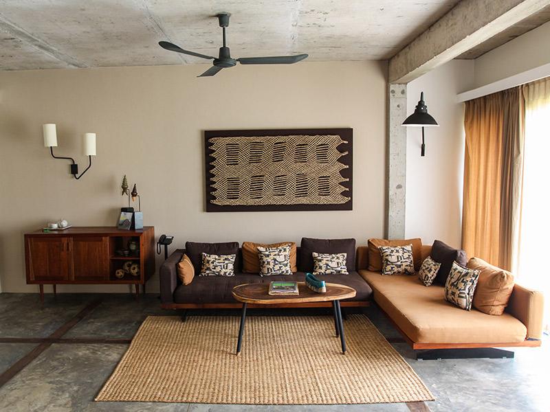 Loft living room at Rambutan Resort Siem Reap, Cambodia, photo by Ivan Kralj
