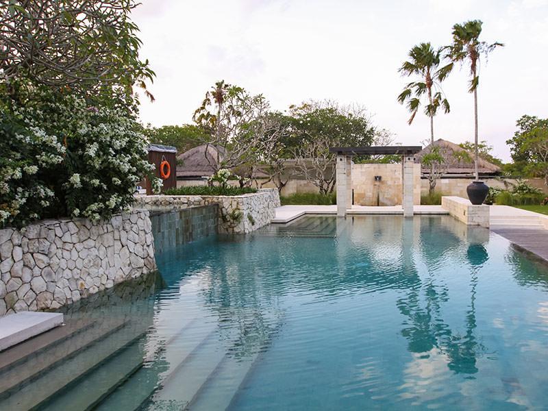 The main swimming pool at the Balé resort in Nusa Dua, Bali, Indonesia, photo by Ivan Kralj