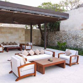 Lounge area at the Balé resort in Nusa Dua, Bali, Indonesia, photo by Ivan Kralj