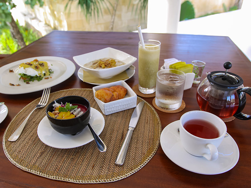 The breakfast in the Faces restaurant at the Balé resort in Nusa Dua, Bali, Indonesia, photo by Ivan Kralj