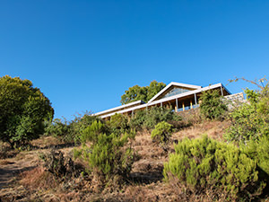 Exterior of the main building of Limalimo Lodge nested in the greenery of Simien Mountains, Ethiopia, photo by Ivan Kralj