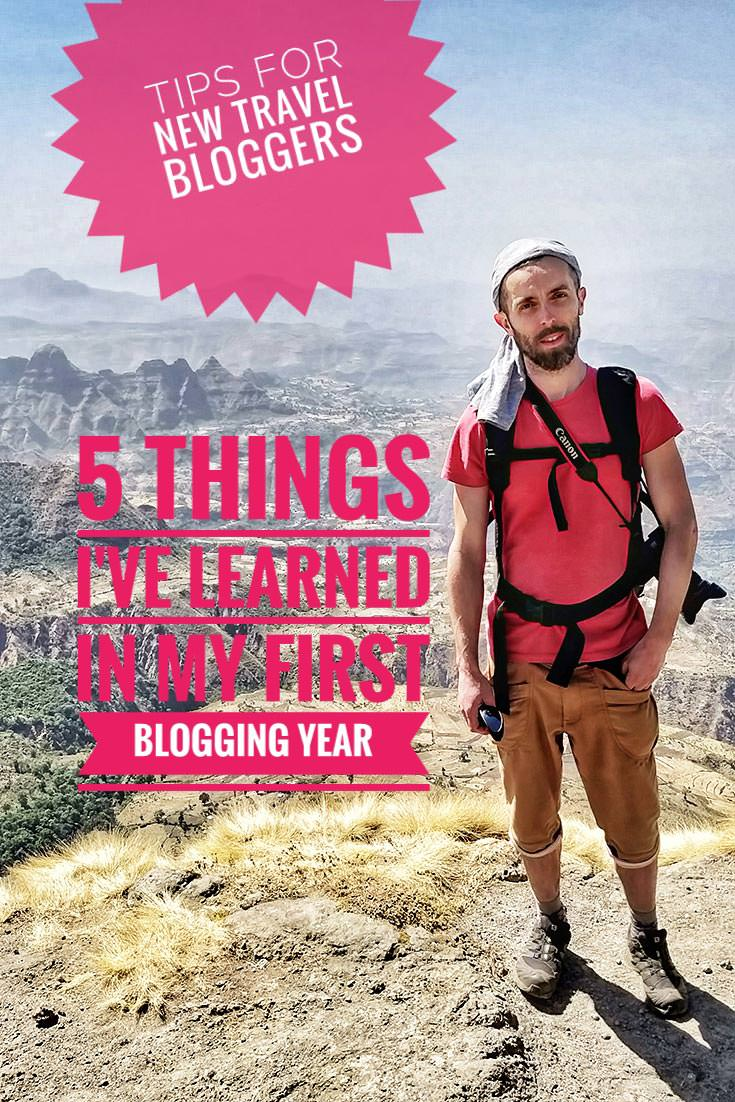 Pipeaway.com travel blog celebrated its first birthday. Blogger Ivan Kralj shares his five best tips for others considering the life of nomadic travel writing
