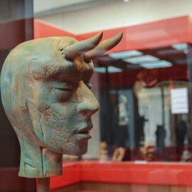 Sculpture exhibit at Devil's Museum in Kaunas, Lithuania, photo by Ivan Kralj