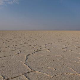 Salt plains of Lake Assale, Danakil Depression, Ethiopia, the hottest place on Earth, photo by Ivan Kralj