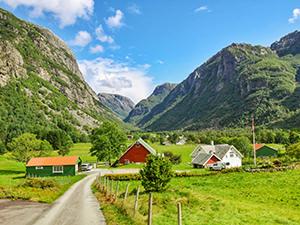 Hauane Bed & Breakfast in Lysebotn, the best guesthouse to stay near Kjeragbolten in Norway, photo by Ivan Kralj