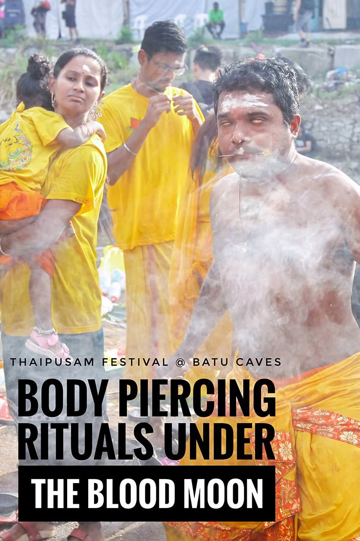 Thaipusam is an annual Hinduistic festival that attracts 1,6 million visitors to Batu Caves, Malaysia, every year. It is known for devotees falling into trance and then practicing extreme body piercing rituals in celebration of Lord Murugan, the god of war. Check out how Thaipusam Festival 2019 looked like!