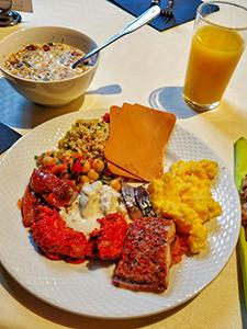 Breakfast at Gran Hotel Terminus in Bergen, Norway, photo by Ivan Kralj