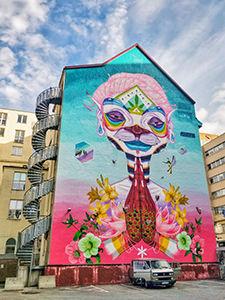 A five-storey mural in Bergen - exploring the street-art scene is one of the top things to do in Bergen, Norway, photo by Ivan Kralj