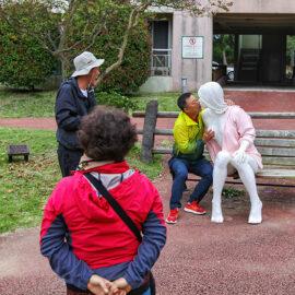 Exhibit at Jeju Loveland sculpture park in Jeju Island, South Korea, photo by Ivan Kralj