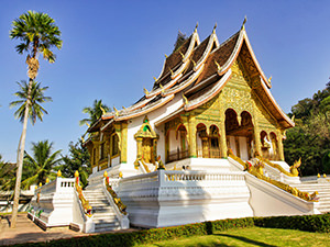 Haw Pha Bang, the Royal Temple at the Royal Palace, where Phra Bang Buddha image is enshrined; visiting this museum is considered to be one of the best things to do in Luang Prabang, Laos, photo by Ivan Kralj