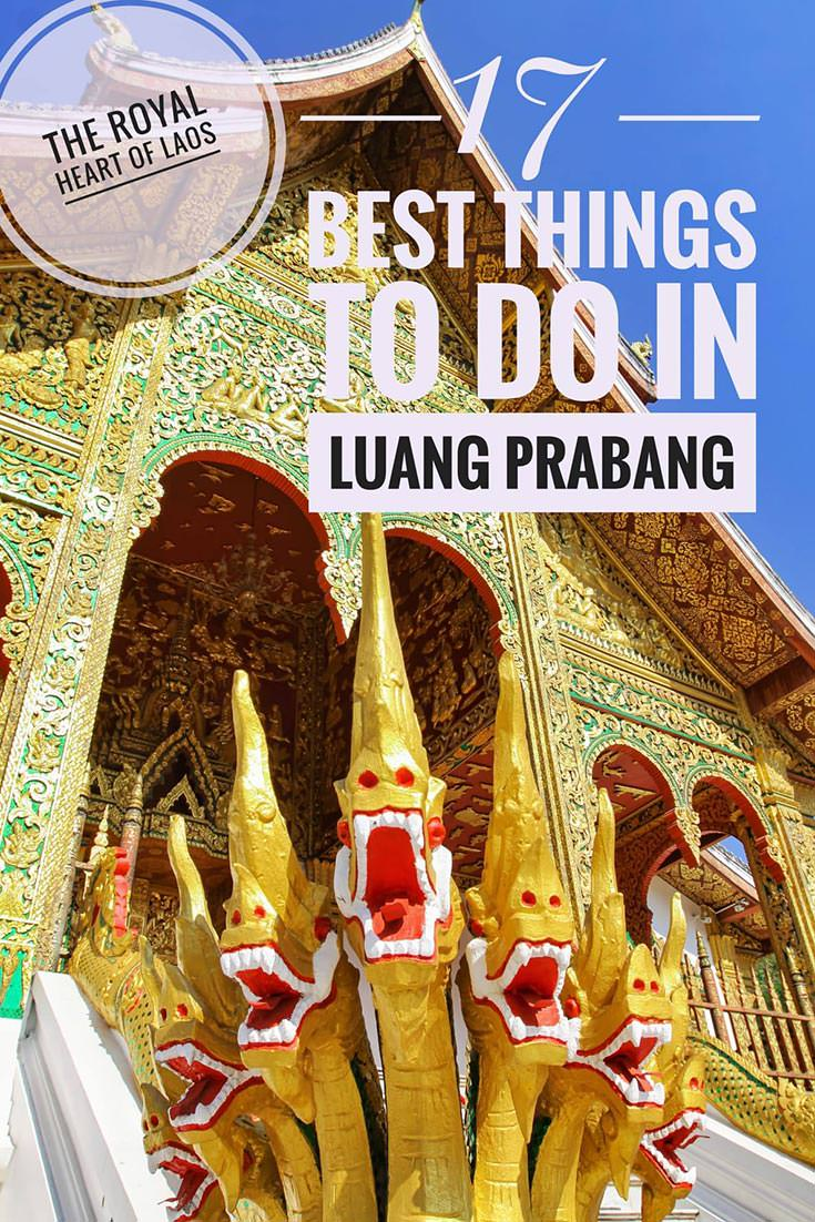 Luang Prabang is a historical royal capital of Laos. Today, it is the country's touristic capital, and if you plan visiting, make sure to include these 17 best things to do in Luang Prabang in your itinerary.