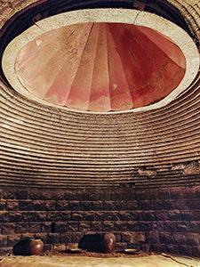 Hanjeungmak kiln, a heated room in Itaewon Land, a Korean spa / jjimjilbang in Seoul, South Korea, photo by Ivan Kralj