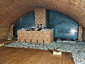 Fomentation or poultice room at Itaewon Land, a Korean spa / jjimjilbang in Seoul, South Korea, photo by Ivan Kralj