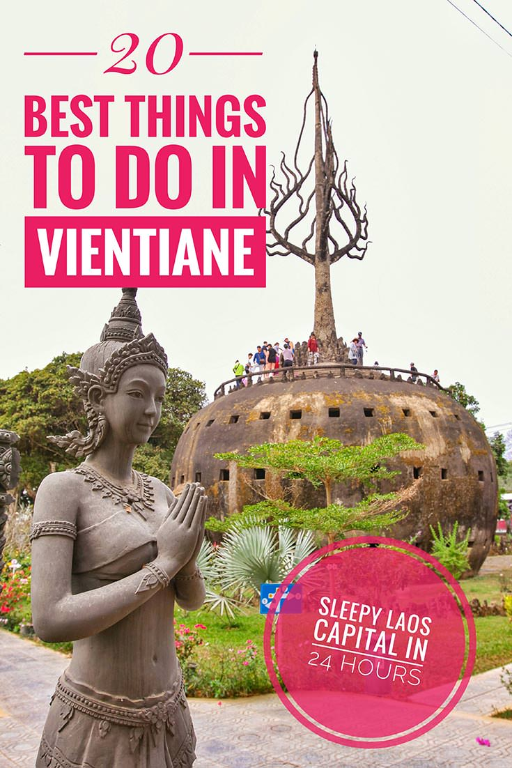 Vientiane is often considered to be one of the most boring places to visit in Laos! No matter if you are traveling there for one, two or three days, these are the top 20 best things to do in Vientiane! Enjoy your guide through the sleepy capital of Laos!
