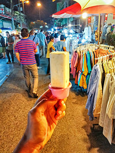 Local ice-cream at one of the must-see night markets in Chiang Mai, Thailand, photo by Ivan Kralj