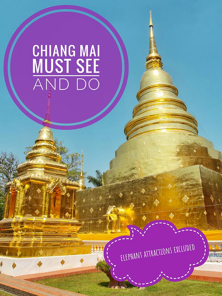 Chiang Mai is the temple capital of Thailand. With more than 300 wats, there is a lot of things to do in Chiang Mai, but there is so much more than temple hopping in the Rose of the North. This is Chiang Mai must see and do top 10 list!