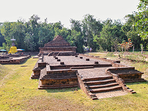 Remains of Wat That Kaow in Wiang Kum Kam, short-time capital of Lanna Kingdom, near Chiang Mai, Thailand, photo by Ivan Kralj