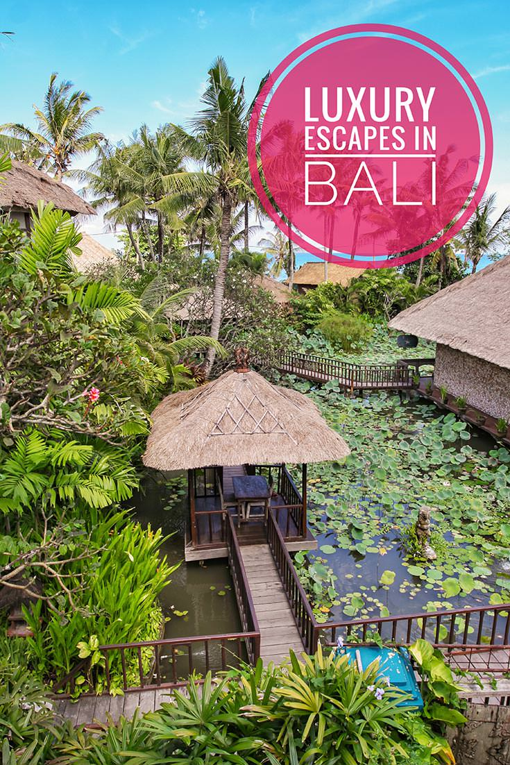 Bali is a favorite Indonesian tourist destination, but what are the recommended places to stay? If looking for luxury escapes, these are the best hotels in Bali!