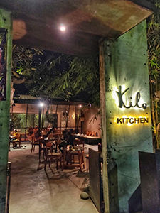 Entrance to Kilo Kitchen Bali, one of the best restaurants in Seminyak, Indonesia, photo by Mladen Koncar
