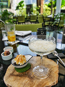 Balinese white chocolate martini served in Merah Putih, one of the best restaurants in Seminyak, Bali, Indonesia, photo by Ivan Kralj