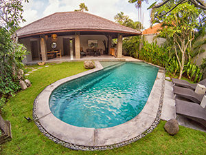 Pool villa at The Amala Estate, one of the best hotels in Bali, photo by Ivan Kralj