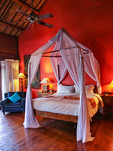 Bedroom of the Rejang Suite in Tugu Bali, one of the best luxury escapes in Bali, Indonesia, photo by Ivan Kralj